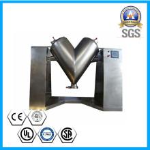 Mezclador de forma de V en acero inoxidable para polvo de cerámica