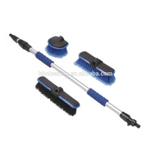 professional car wash multi-brush kit with hose attachment