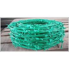 Valla de alambre de púas