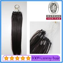 Wholesale Brazilian Human Hair Virgin Hair 18 Inch - 30 Inch Easy Pull Loop Micro Ring Hair Extensions