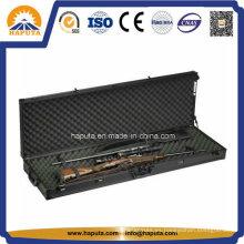 Estuche rígido negro de doble rifle con espuma interior (HG-1508)