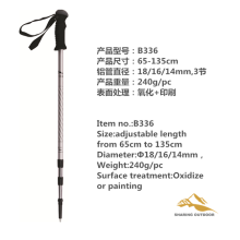 China for Alpenstock Trekking Poles Adjustable Walking Trekking Stick Poles supply to Colombia Suppliers