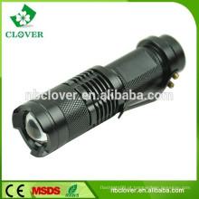 Com clip 3W bolso tamanho mini lanterna led