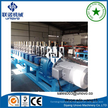 Server rack open frame steel profile rollform manufacturing line