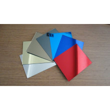 Chrome Color Golden Plated Decorative Mirror Acrylic Sheet for Wall Decoration