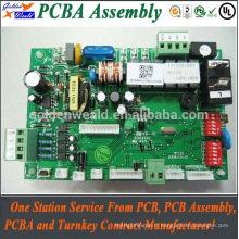 Assemblée de carte électronique avec la carte PCB de HASL sans plomb pour l'assemblée de pcba / pcb de conducteur de LED