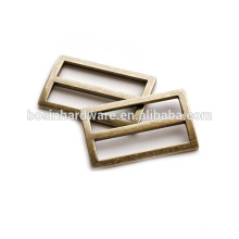 Art- und Weisequalitäts-Metallantike-Bronzen-justierbarer Rechteck-Ring