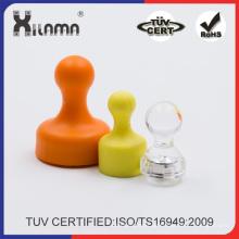 Kundengebundener Farbkristall-magnetischer Notiz Push Pin-Kühlschrank-Magnet