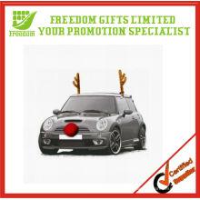 Antlers de Noël de voiture imprimée pour la voiture