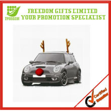 Printed Car Christmas Antlers for car