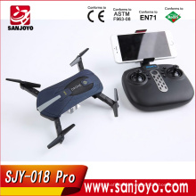 Upgrade JY018 Drone Foldable Pocket JY018 Pro Remote control Selfie drone with 720P Wide Angle Wifi FPV camera JY018 Pro drone