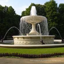 Novo design de mármore ao ar livre jardim mármore piscina fonte de água para venda
