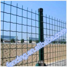 PVC/PE dipped coating Low carbon steel Transit Euro fence