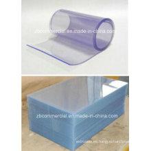 Hoja / película rígidas transparentes del PVC de la hoja del PVC