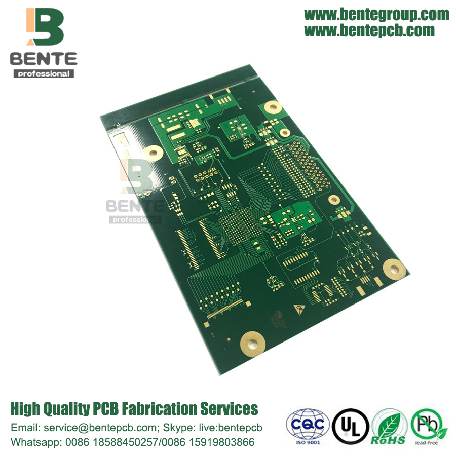 ENIG 3U multilayer PCB FR4 Tg150 PCB 1oz