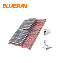 Support de panneau solaire Supports de montage réglables pour panneau Montage de panneaux solaires Structures de montage pour toitures en tuiles