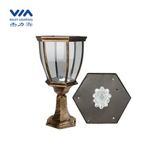 outdoor solar column headlamps with led SMD