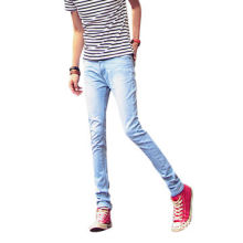 Men's denim pants, fashionable and suitable for man