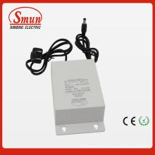 Adaptador impermeável exterior 100-240VAC da CC da CA de 12V2a 24W IP44 dentro para a câmera