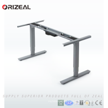 High class Office standing adjustable height computer desk accept OEM
