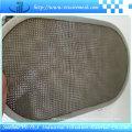 Disco de filtro rectangular de acero inoxidable