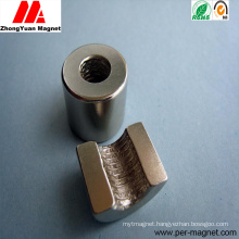 Competitive Price Permanent Neodymium NdFeB Magnet of Ring Shape