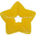 Different shape 3 PCS Food Grade dough toast cutter Plastic Bread Cutter