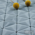 Wall art triangle glass tiles