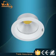 Lámpara empotrada de 10W LED para uso comercial residencial e ingeniería