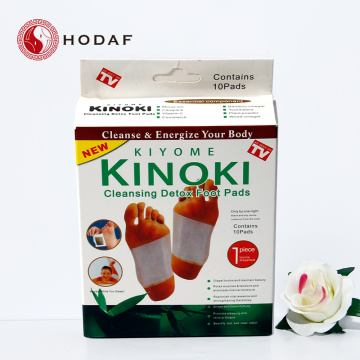 100% Naturlig ört Sydkorea Detox Foot Patch