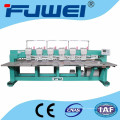 6 heads flat embroidery machine