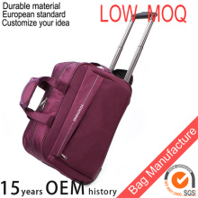 OEM brand names nylon bags luggages trolley for women and men