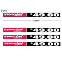 P1.5625 LED Advertising Display Screen for Shelf
