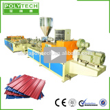 PVC ASA Composite Sheet Extrusion Line Plastic Roof Tile Machine