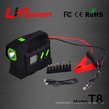 23100mah 24V Polymer Li-ion batterie multifonction automatique de démarrage d'urgence avec lampe de balise Beacon