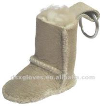 Zapatos de la nieve llavero personalizado