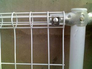 Double Ringed Protection Fence