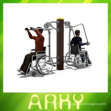 Equipement extérieur handicapé Exercice de réadaptation physique