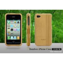 Waterproof Wooden Bamboo Hard Apple Iphone4 Protective Cases For Iphone4 4s