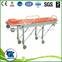 Rise-And-Fall Ambulance Stretcher Chair Folding Stretcher Trolley