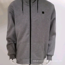 Battery Heated Hoodie Sweatshirt with Front & Back Heating Elements