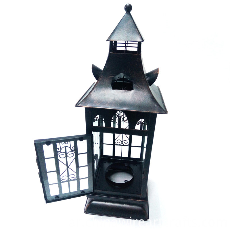 Metal Hurricane Lanterns for home decoration