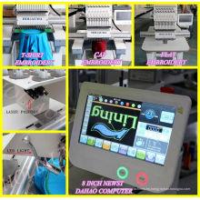 Cabeza de fábrica 1 China del bordado computarizado camiseta gorra bordado máquina Ho1501c