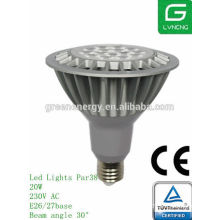 PAR 38 16W led spotlight PAR38 TUV ,ULlisted ES cerificate energy saving led bulb