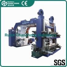 4 cores não tecido tecido Flexo impressão máquina (série CH884)