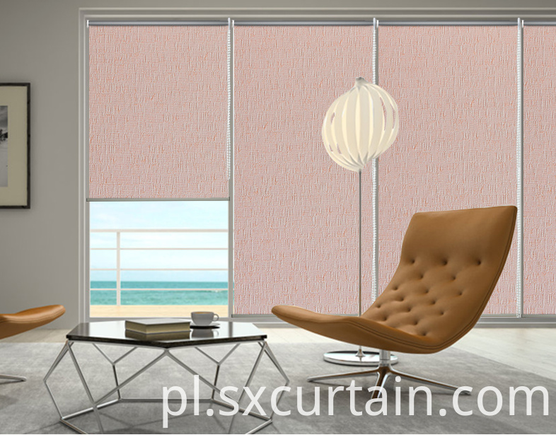 Jacquard Roller Blind Curtain Shade Dyed