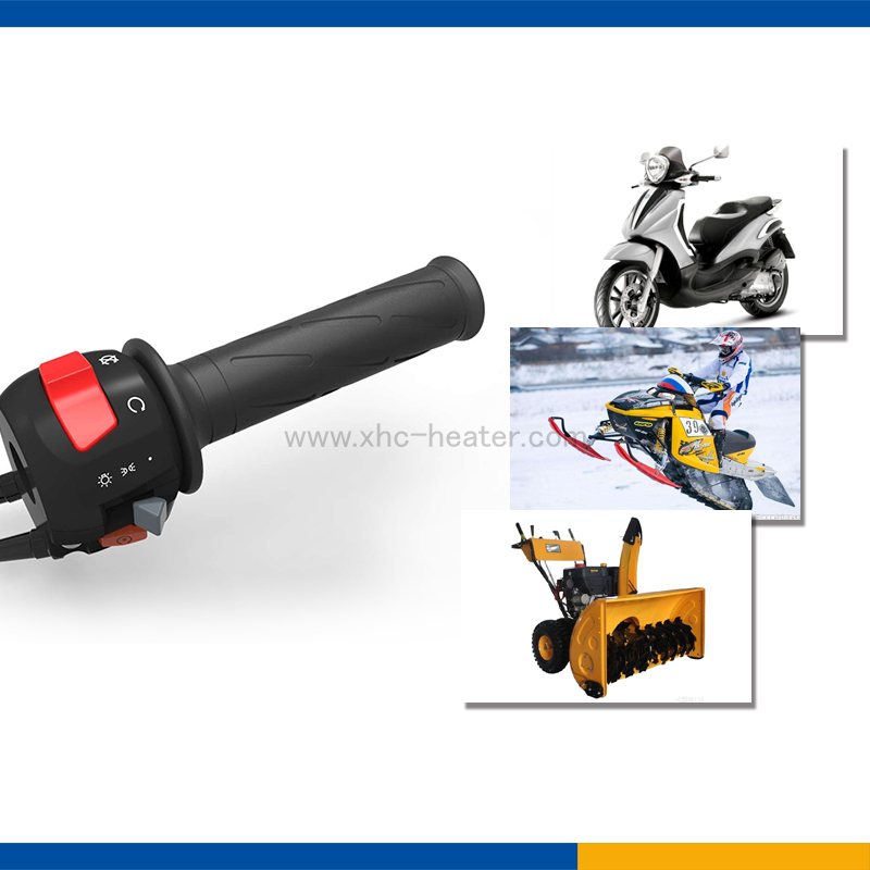 heated hand grips for snowblower with CE