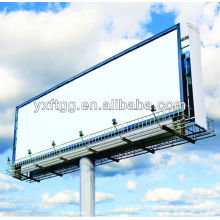 galvanized steel billboard poles