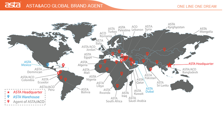 ASTA&ACO global brand agent