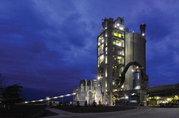 cement manufacturing line